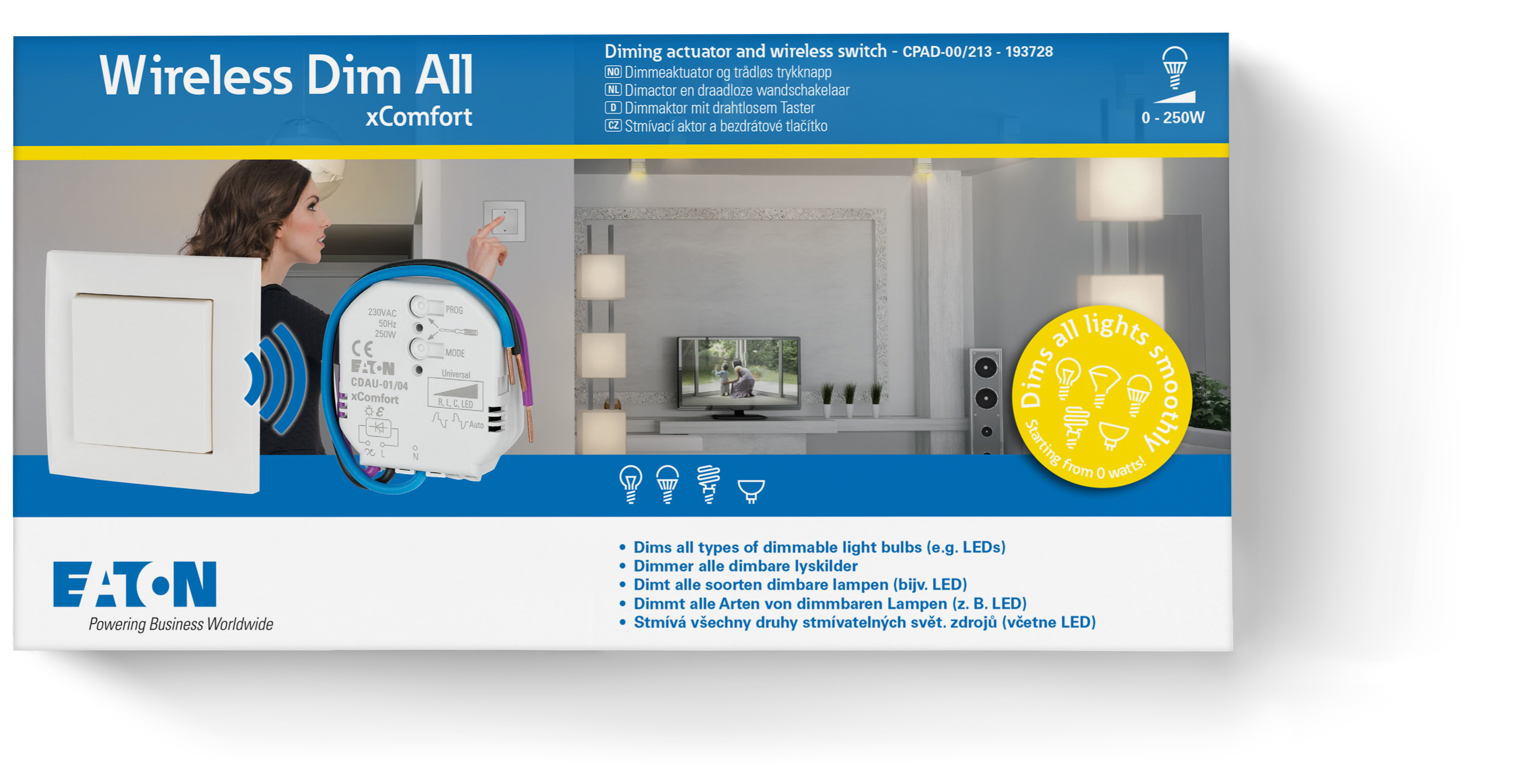 Rf Smart Home Lsungen Drahtlos Eaton Europa Wohnbau Und How To Wire Switches In Parallel Electrical Technology Go Wireless Pakete De