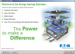Energy Savings Estimator